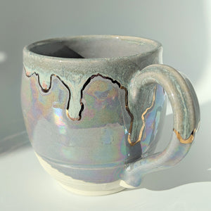 Cynthia Pearl and Gold Mug - 4 -