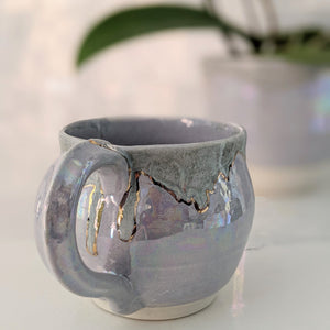 Cynthia Pearl and Gold Mug - 5 -