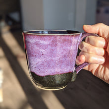Load image into Gallery viewer, Gloria Glitter Purple Mug