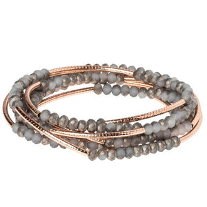 Scout Wrap: Pewter/Rose Gold
