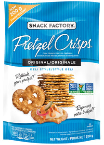 Snack Factory: Pretzel Crisps Original