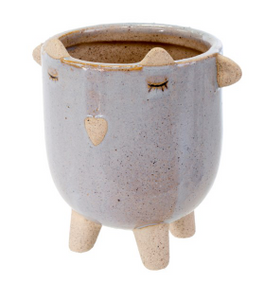 "3"" Little Lamb Pot, Lavender - Indoor Pots"
