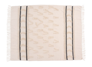 Tufted Boheme Throw - Everyday Textiles