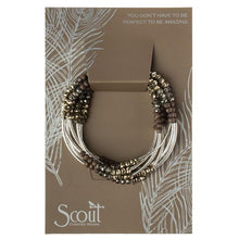 Load image into Gallery viewer, Scout Wrap : Metallic Tri-Tone/Silver