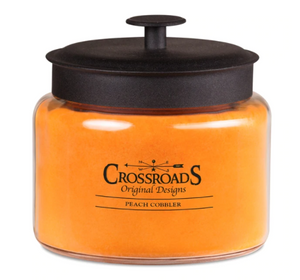 Crossroad Candle: Peach Cobbler (Multiple Sizes)