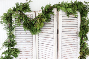 50' Cedar Roping Fresh Garland