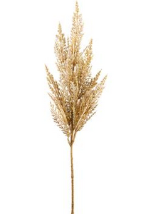"33"" Pampas Grass Spray Beige - Florals and Foliage"