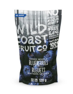 Wild Coast Fruit - Dried Whole Blueberries