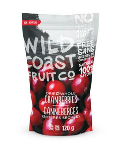 Wild Coast Fruit - Dried Whole Cranberries