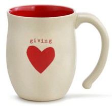 Load image into Gallery viewer, Warm Heart Mugs: Giving Heart