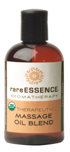 rareESSENCE Aromatherapy: Therapeutic Massage Oil Blend