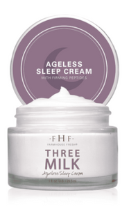 Farmhouse Fresh: Three Milk Ageless Sleep Cream with Peptides