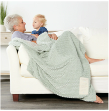 Load image into Gallery viewer, Grandma and Me Cuddle Baby Blanket