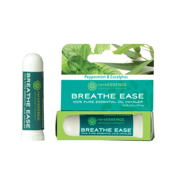 rareESSENCE Aromatherapy: Breathe Ease 100% Pure Essential Oil Inhaler