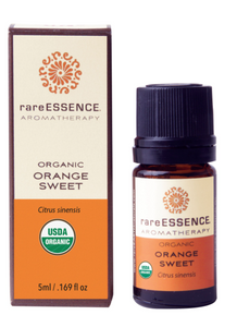 rareESSENCE Aromatherapy: Organic Orange Sweet 100% Pure Essential Oil
