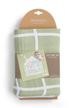 Load image into Gallery viewer, Homegrown Photo Baby Swaddle