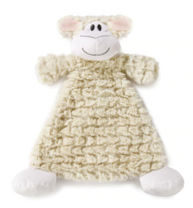 Langley Lamb Rattle Baby Blankie
