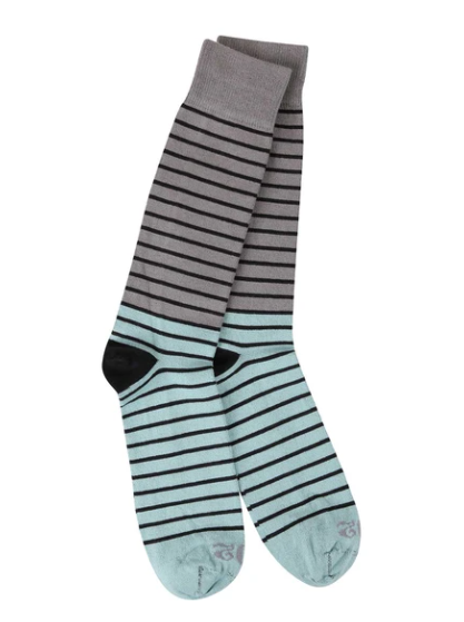 World's Softest Socks: Shadow Stripe Socks