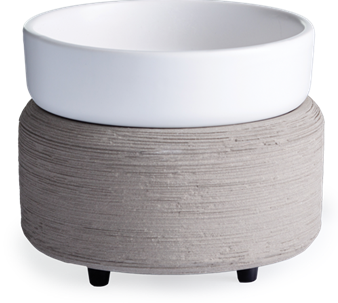 Candle Warmers: Gray Texture 2-in-1 Classic