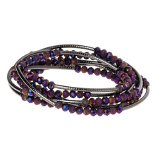 Load image into Gallery viewer, Scout Wrap : Dahlia/Hematite