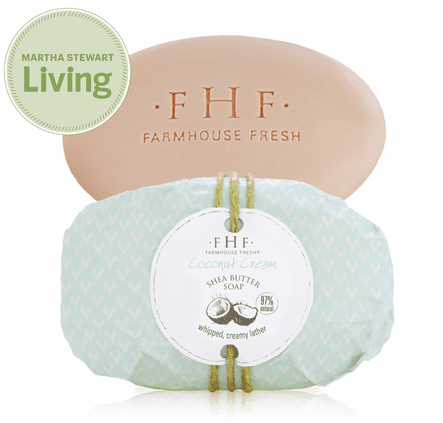Farmhouse Fresh: Coconut Cream Shea Butter Soap