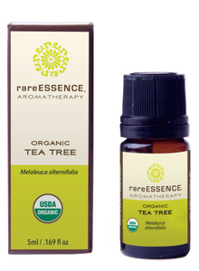 rareESSENCE Aromatherapy: Organic Tea Tree 100% Pure Essential Oil