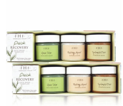 Farmhouse Fresh: Quick Recovery Face Mask Sampler