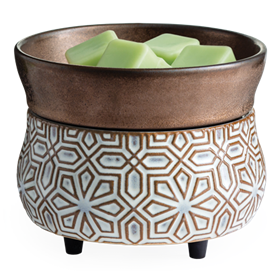 Candle Warmers: Bronze Geometric 2-In-1 Warmer