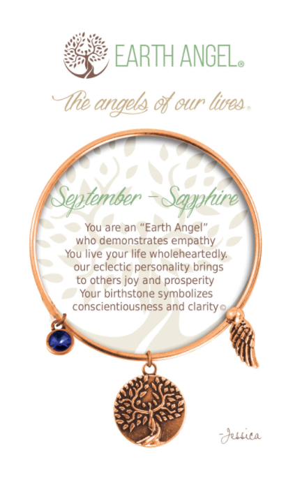 Earth Angel: September Bracelet (Copper)