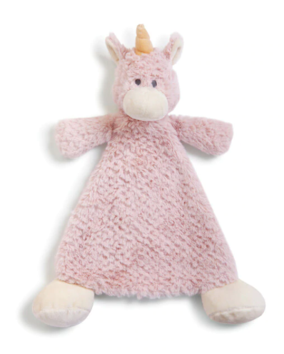 Wendy Unicorn Rattle Baby Blankie