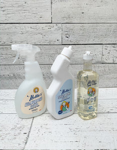 Nellie's Cleaning Bundle: (1) All-Natural One Soap, (1) All Purpose Cleaner & (1) Toilet Bowl Cleaner
