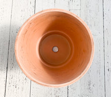 "Load image into Gallery viewer, 8.3"" Terra Cotta: Cone Pot Duo White"