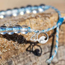 Load image into Gallery viewer, 4 Ocean Beluga Whale White & Blue Bracelet