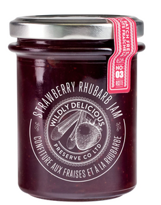 Wildly Delicious: Strawberry Rhubarb Jam