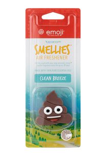 SpaRoom Emoji Smellie – Clean Breeze