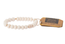 Load image into Gallery viewer, Scout White Fossil Stone Bracelet
