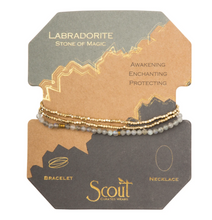 Load image into Gallery viewer, Scout Delicate Stone Labradorite Bracelet