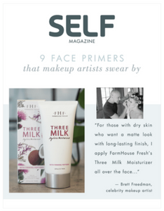 Farmhouse Fresh: Three Milk Ageless Moisturizer with Firming Peptides