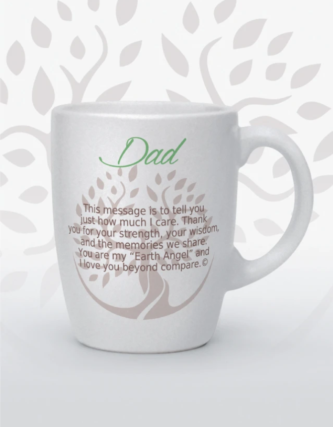 Earth Angel: Dad Mug