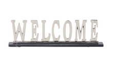 Load image into Gallery viewer, Aluminum Welcome 21x6