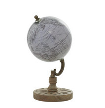 Load image into Gallery viewer, Wood Metal PVC Globe 5x9