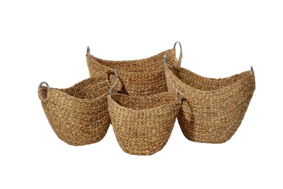 Wicker Metal Basket (4 Sizes)