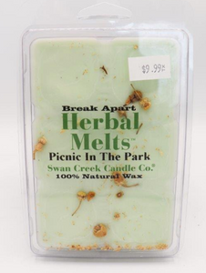 Swan Creek Candle: Drizzle Melts Picnic In The Park