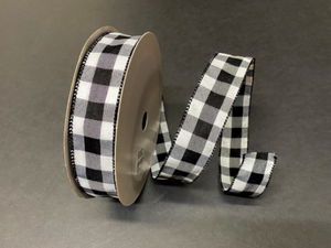 "Everyday Patterned Linen Ribbon- 1.5"" x 50 yards"