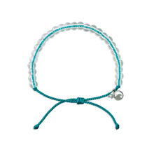 Load image into Gallery viewer, 4 Ocean White Sided Dolphin Turquoise Bracelet