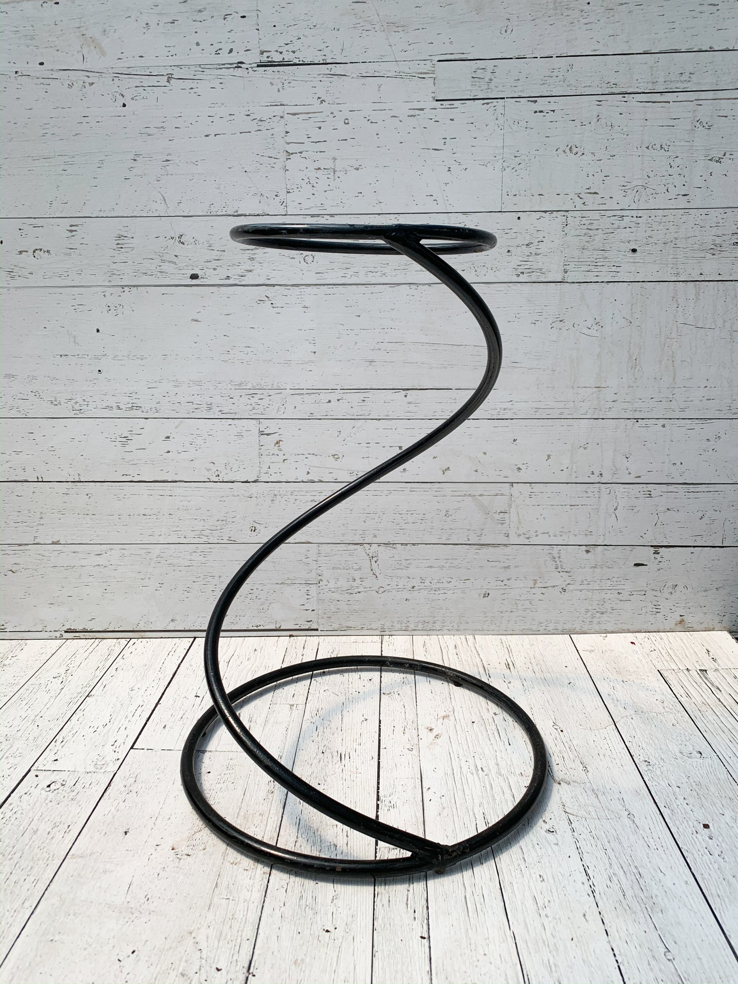 Wrought Iron Spiral Stand