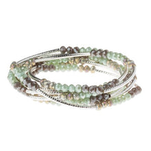 Load image into Gallery viewer, Scout Wrap : Iced Mint Combo/Silver