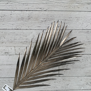 "37"" Metallic Palm Leaf Spray - Holiday Pick"