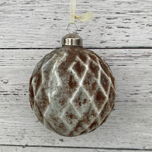 "4"" Glass Ball Ornament"