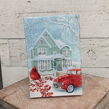 Load image into Gallery viewer, Mini Light-Up Canvas - Holiday Tabletop
